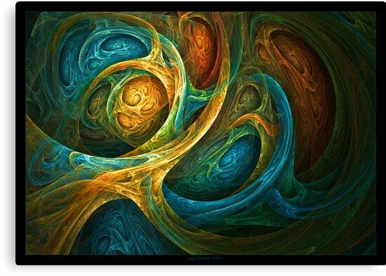 """Spirit Realm"" - Fractal Art by Leah McNeir"