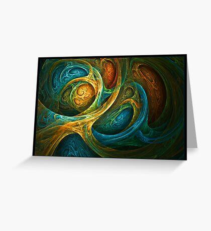 """Spirit Realm"" - Fractal Art Greeting Card"