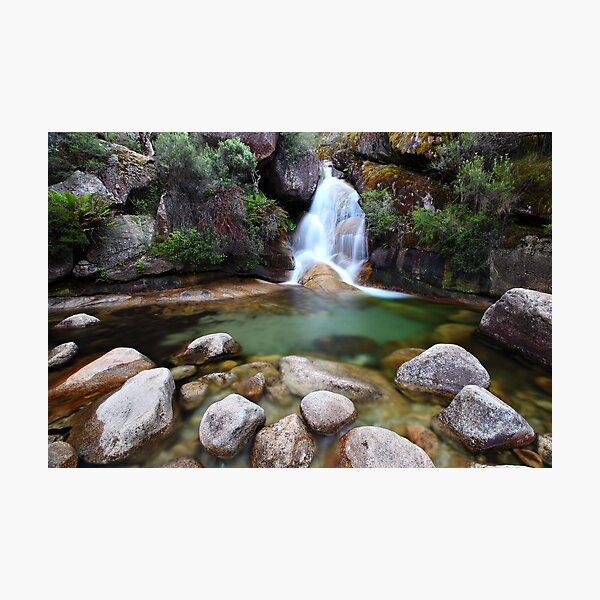 Ladies Bath Falls, Mount Buffalo, Australia Photographic Print