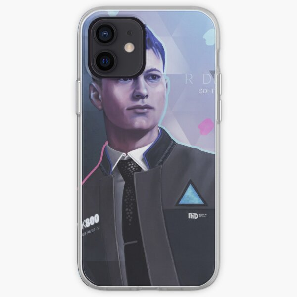 Connor- Detroit: Become Human iPhone Soft Case