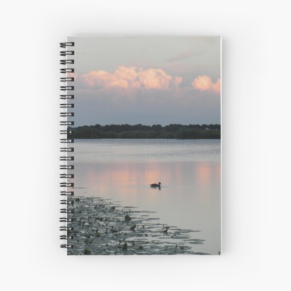 Sunset in Nes aan de amstel Spiral Notebook