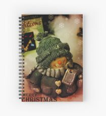 Holiday Greetings 2 Spiral Notebook