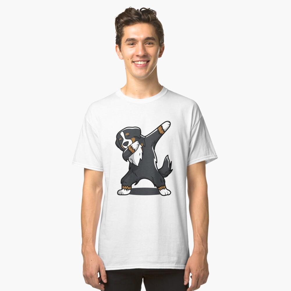 'Bernese Mountain Dog' Cool Dog Dab Dance  Classic T-Shirt Front