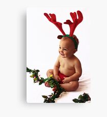 Reindeer Games Canvas Print