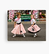 Girls Just Want To Have Fun Canvas Print