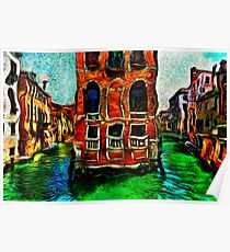 Venice Intersection Fine Art Print Poster