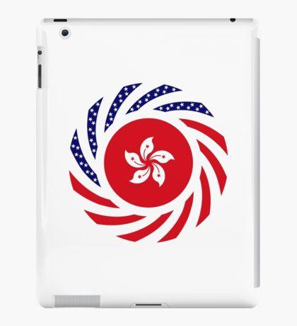 Hong Kong American Multinational Patriot Flag Series iPad Case/Skin