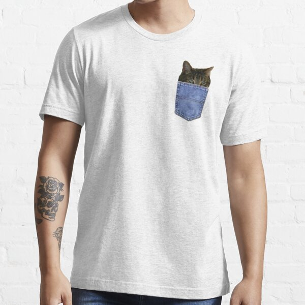 Kitty In Your Pocket Essential T-Shirt
