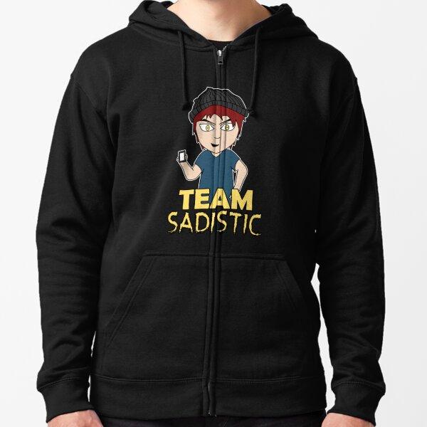 Team Sadistic Zipped Hoodie
