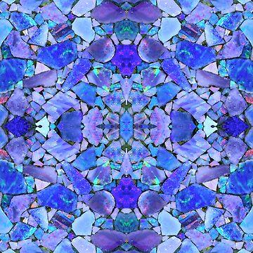 Turquoise Opal Lapis by Tucoshoppe