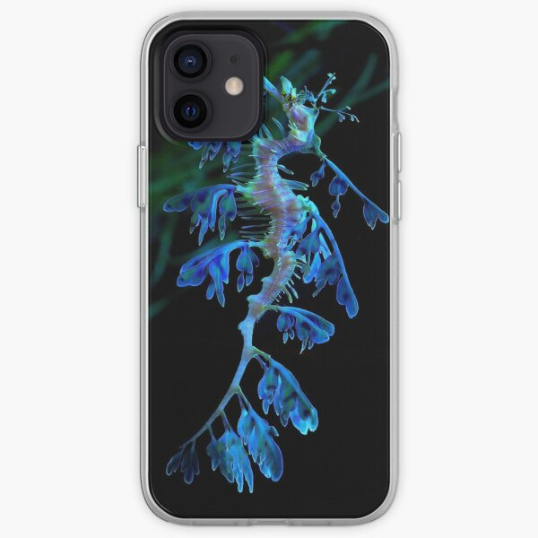 Blue leafy sea dragon two  iPhone Soft Case
