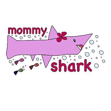 kidostyle: Mommy Shark by kidostylebrand