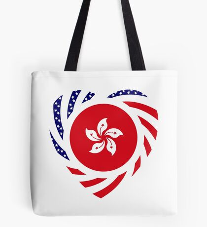 I Heart Hong Kong Patriot Flag Series Tote Bag