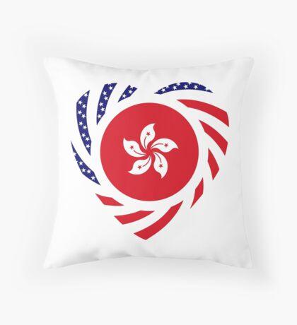 I Heart Hong Kong Patriot Flag Series Throw Pillow