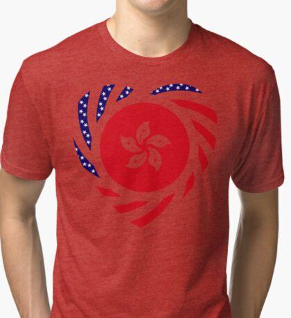 I Heart Hong Kong Patriot Flag Series Tri-blend T-Shirt