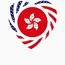 I Heart Hong Kong Patriot Flag Series by Carbon-Fibre Media