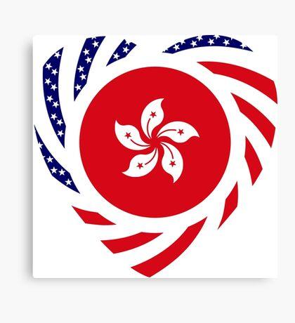 I Heart Hong Kong Patriot Flag Series Canvas Print