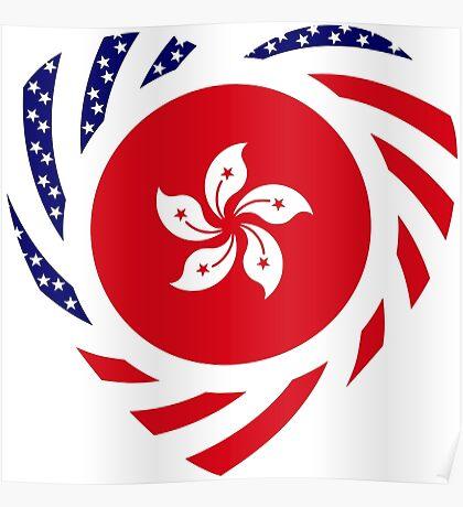 I Heart Hong Kong Patriot Flag Series Poster