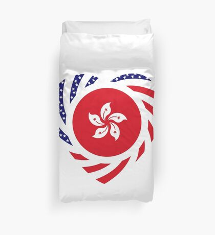 I Heart Hong Kong Patriot Flag Series Duvet Cover