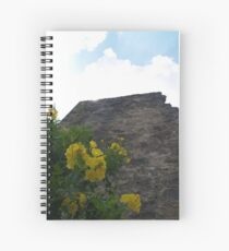 Mission San Jose Wall and Flowers Spiral Notebook