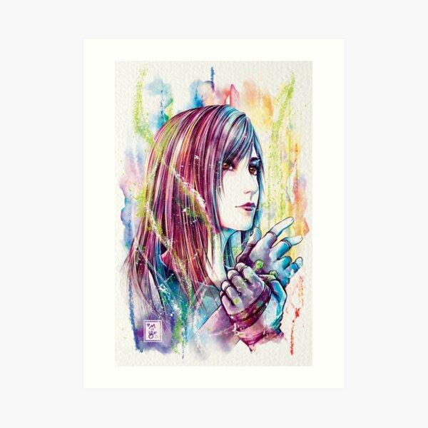 Tifa Art Print