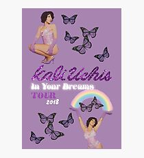Kali Uchis Tour Poster Photographic Print