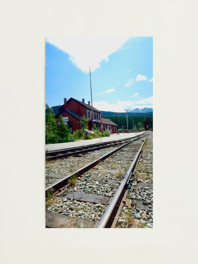Alternate view of Carcross Railroad Photographic Print