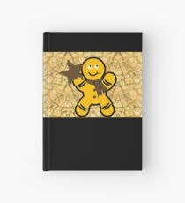 Christmas gingerbread Hardcover Journal