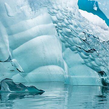 Organic Ice, Jokulslaron, Iceland by cliff449