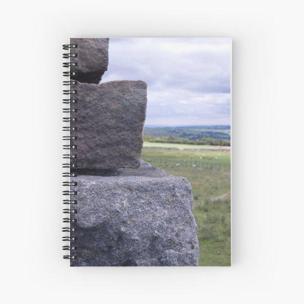 Toft Gate Lime Kiln Close Up Spiral Notebook