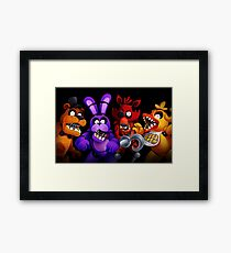 WELCOME TO FREDDY'S Framed Print