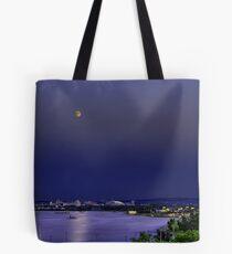 Super Moon Above Syracuse, NY Tote Bag