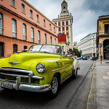 Havana, Cuba by Tonywallbank