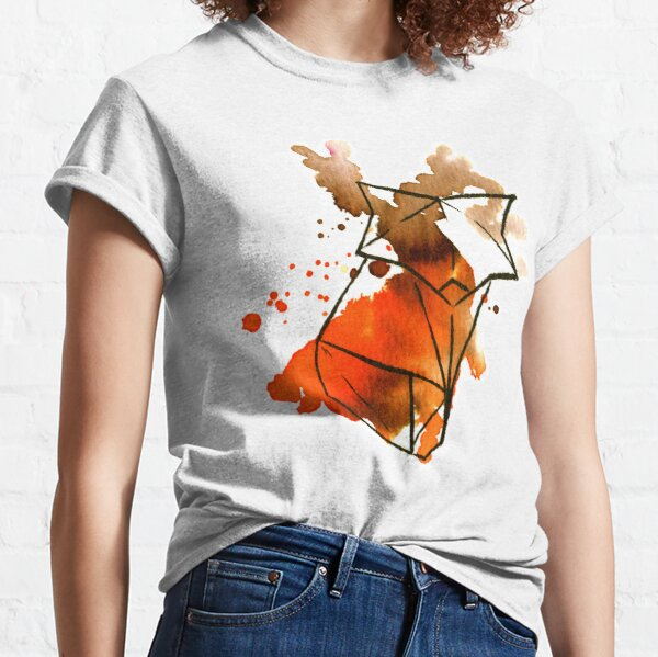 Origami Fox (orange) Classic T-Shirt