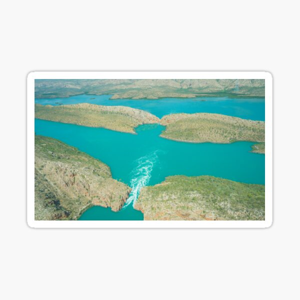 Horizontal Falls Sticker