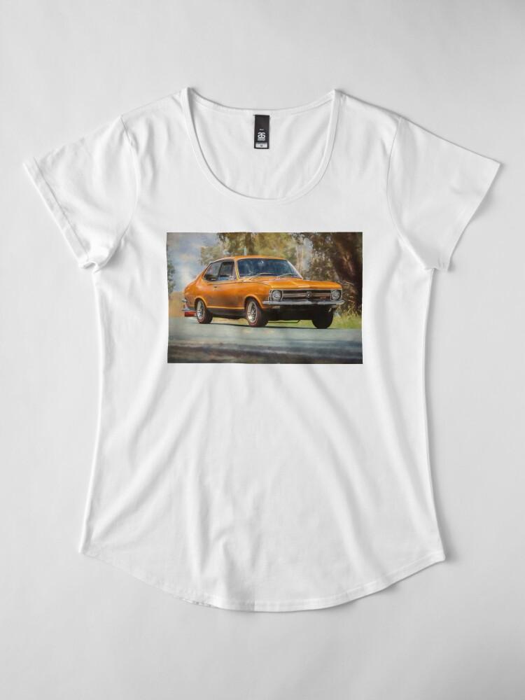 Alternate view of Bronze LC Holden Torana GTR XU-1 Premium Scoop T-Shirt