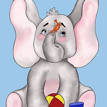 August Beach Boy Elephant by redqueenself
