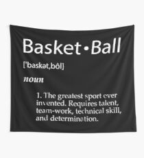Basketball Tapestry