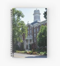 Old Main Clock Tower Spiral Notebook