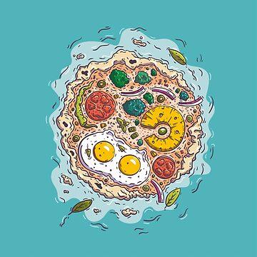 Pizza Island by zsoltbaritz