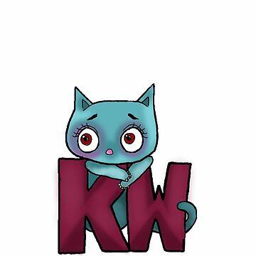 KATIE WOODFORD(or anybody with these initials) by katrinahajowyj