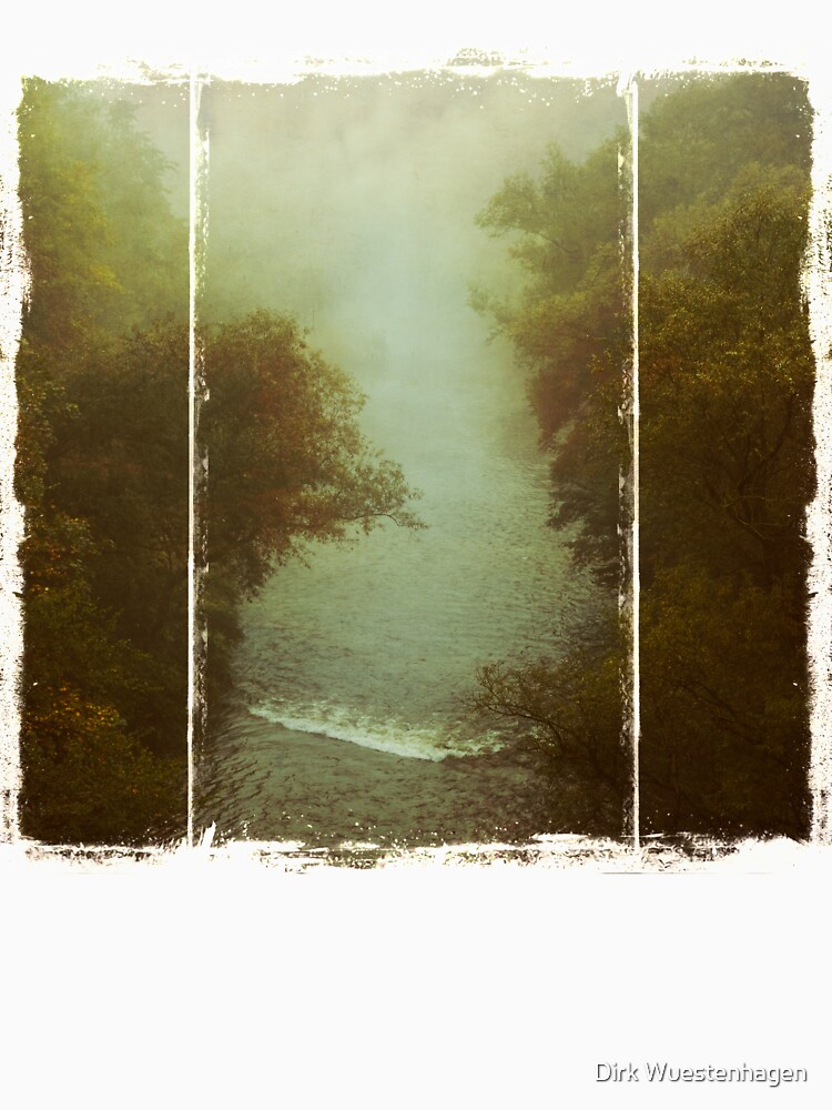River in Fog by DyrkWyst