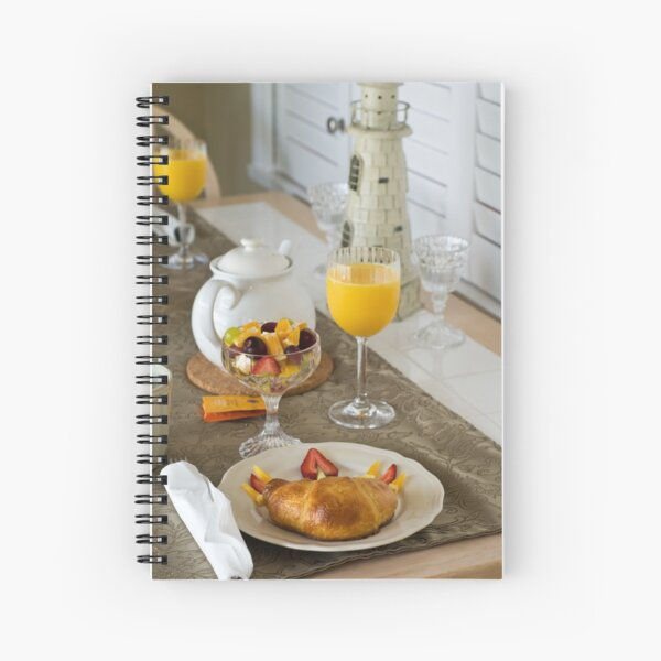 Breakfast is Served Spiral Notebook