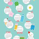 Kawaii Life 2019 Calendar by Marceline Smith