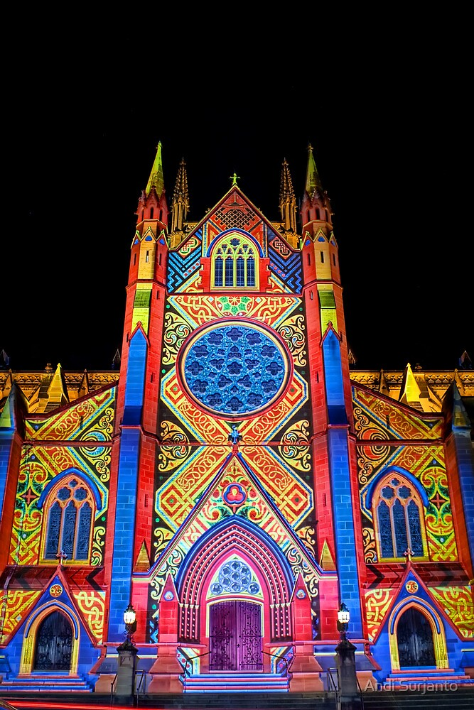 St Mary's Cathedral ~ Smart Light by Andi Surjanto