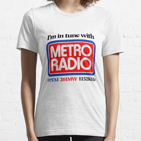 Local Radio: I'm in tune with Metro Radio (80s) Essential T-Shirt