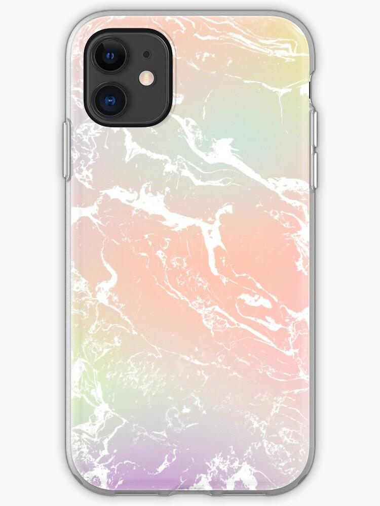 Unicorn Pattern on Pastel Purple iPhone 11 case