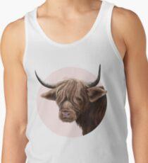 highland cattle portrait  Tank Top