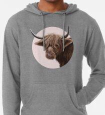 highland cattle portrait  Lightweight Hoodie