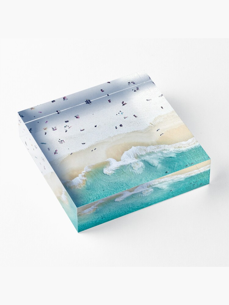 Alternate view of Summer Vibes  Acrylic Block